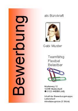 Word Deckblatt Mit Textfeldern Online Im S L Z